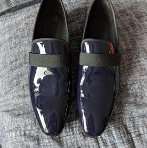 Aquila Ascott Loafers; Men's Size 43 Euro; Navy